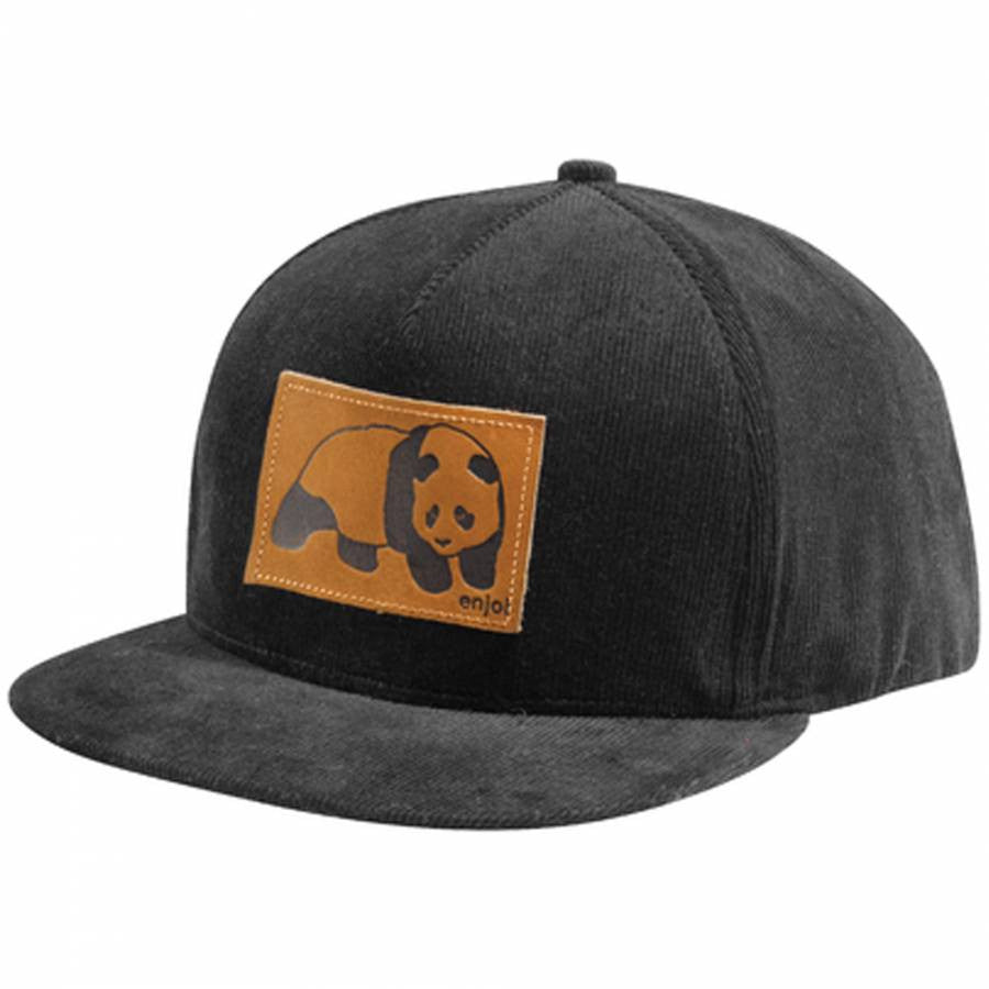 Enjoi Happy Daze Cap Snapback - Black - Men's Hat