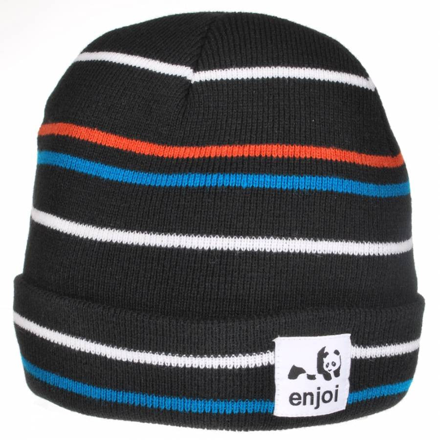 Enjoi Hairline Receder - Black - Men's Beanie