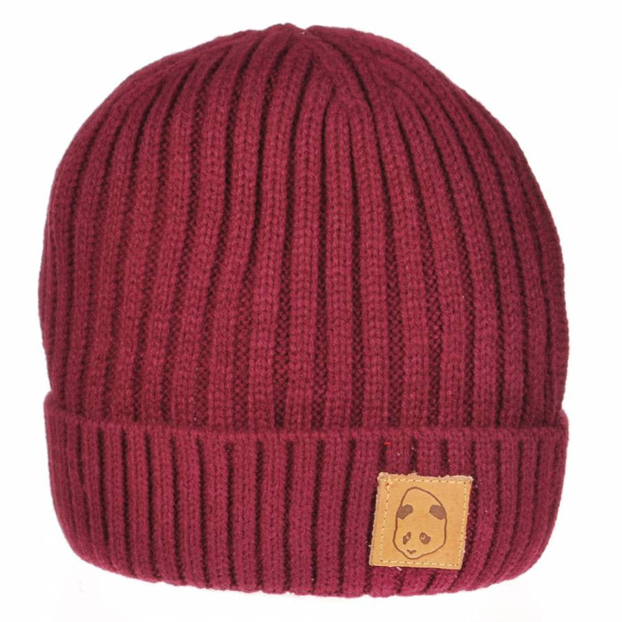 Enjoi Knit Is It - Oxblood - Men's Beanie
