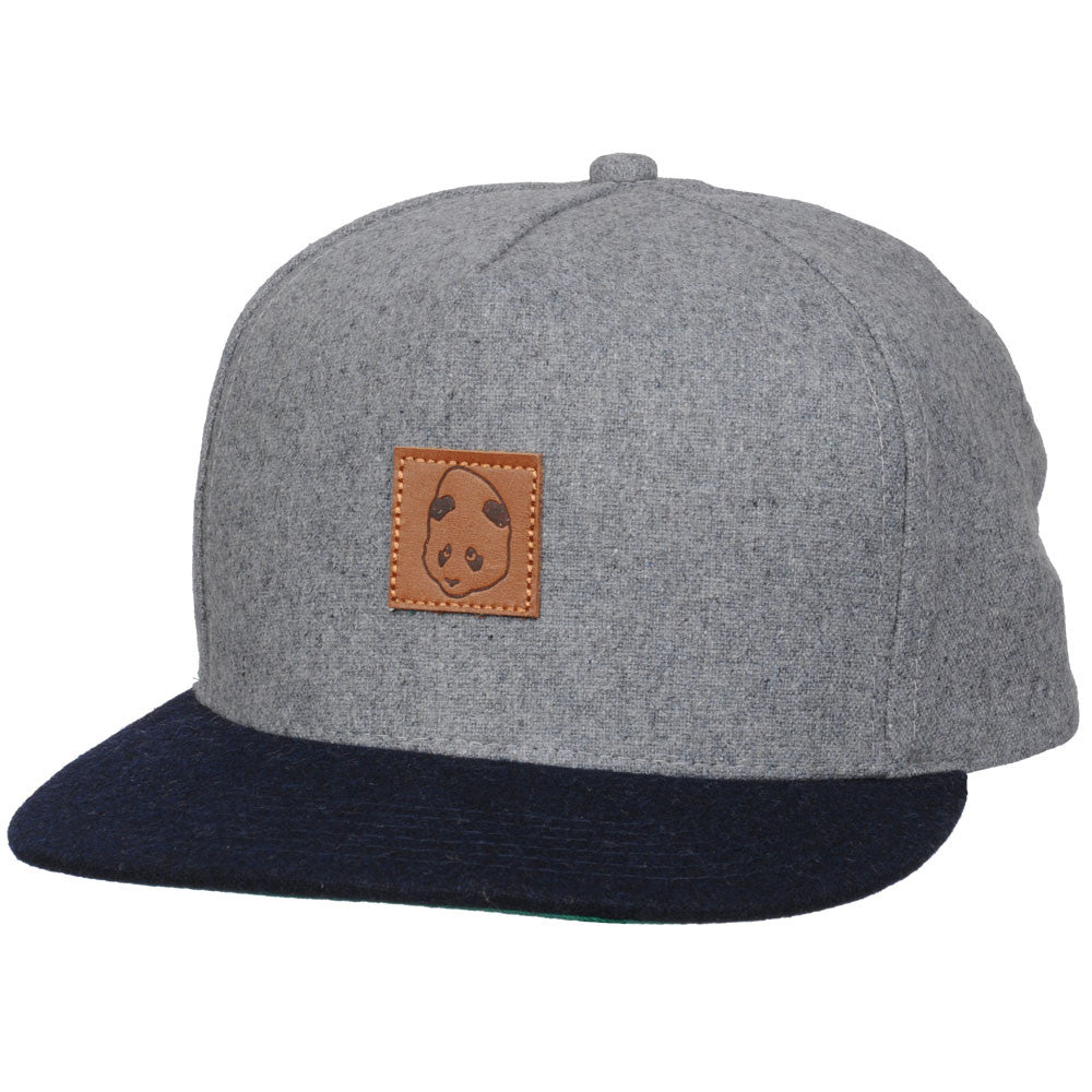 Enjoi Sunday Brunch Cap Snapback - Grey/Navy - Men's Hat