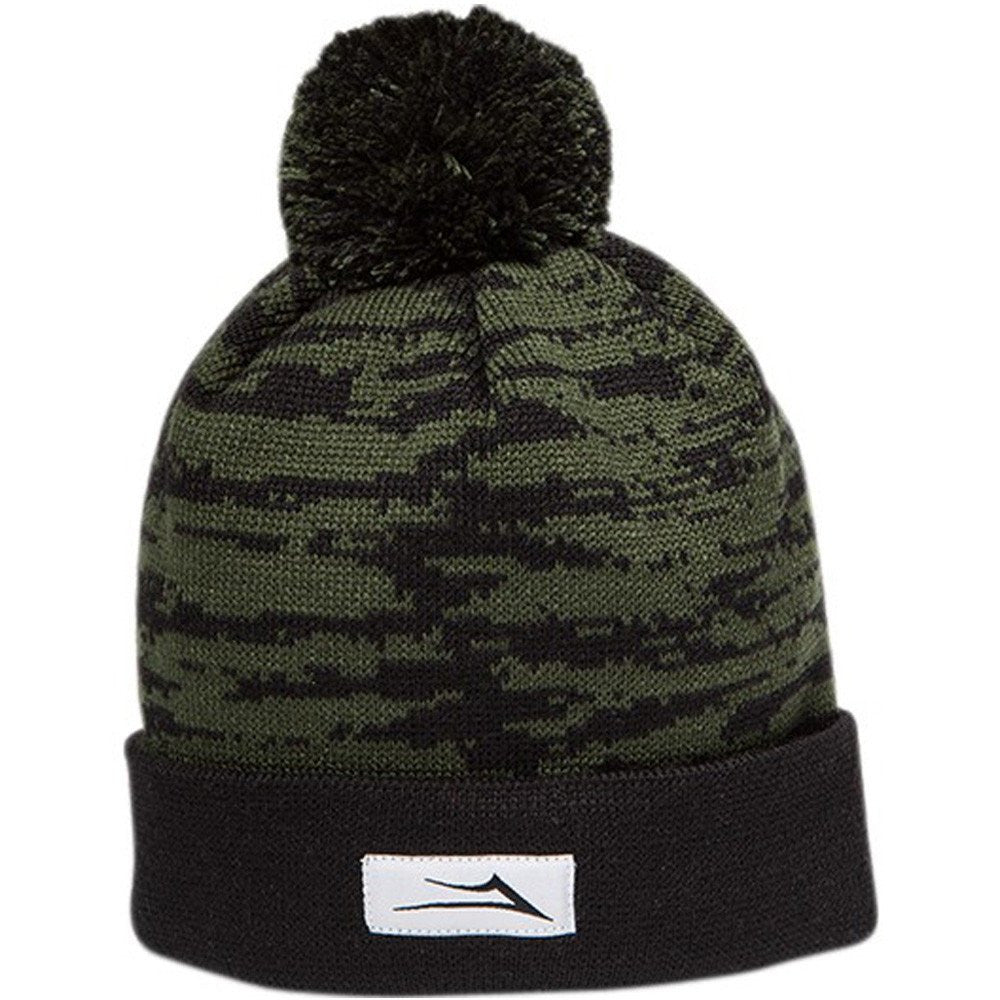 Lakai Nations Pom - Black/Green - Men's Beanie