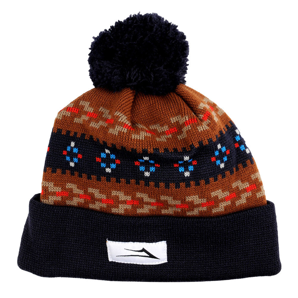 Lakai Malloy Pom - Brown - Men's Beanie
