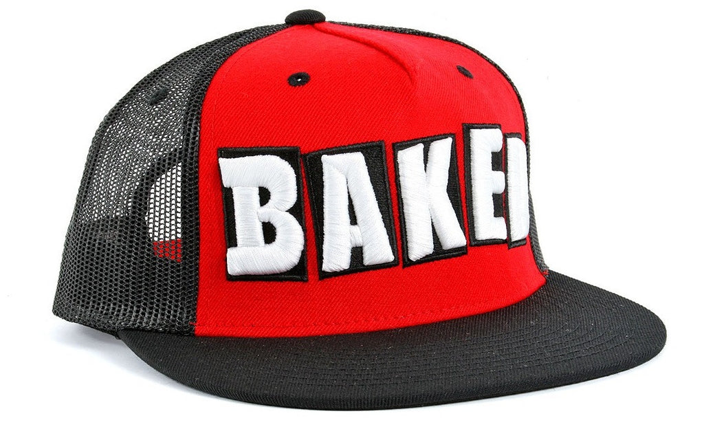 Baker Baked Trucker - Red - Men's Hat