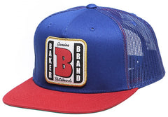 Baker Genuine Patch Trucker - Royal - Men's Hat
