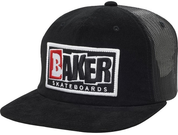 Baker Keep It Simple Corduroy Trucker - Black - Men's Hat