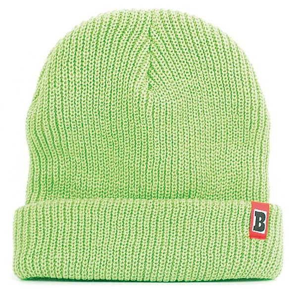 Baker Double Down - Neon Green - Men's Beanie