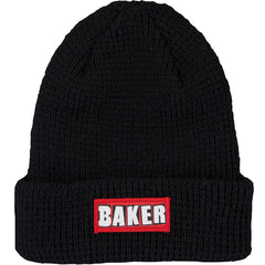 Baker Patch Adams Cuff - Black - Men's Beanie
