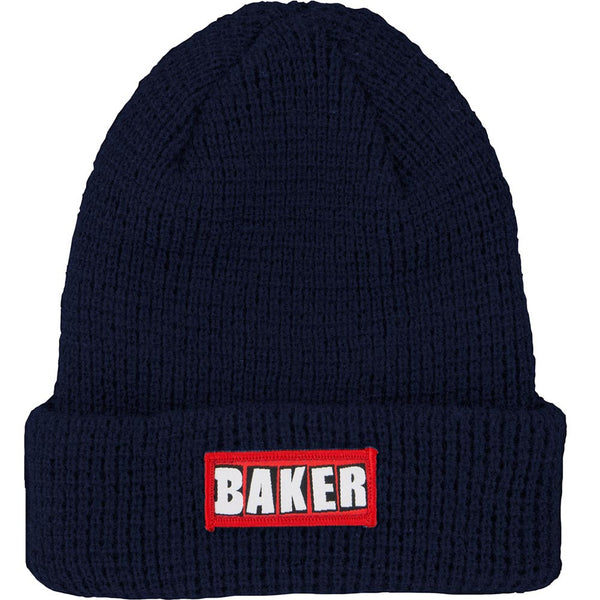 Baker Patch Adams Cuff - Navy - Men's Beanie