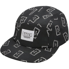 Baker Interstellar 5-Panel - Black - Men's Hat