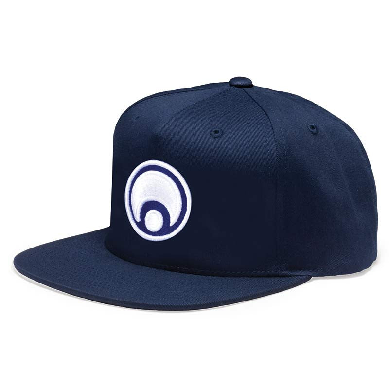 Osiris Standard Snapback - Navy/White - Men's Hat