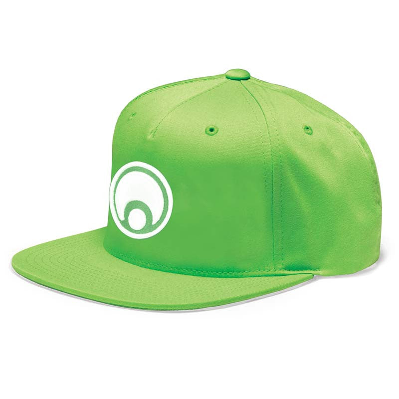 Osiris Standard Snapback - Lime/White - Men's Hat