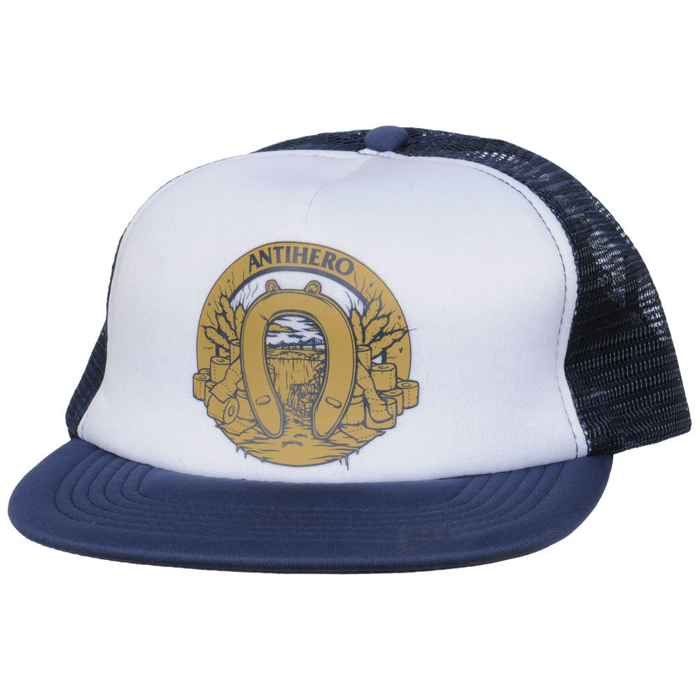 Anti-Hero Dumping Luck Trucker - White/Blue - Men's Hat