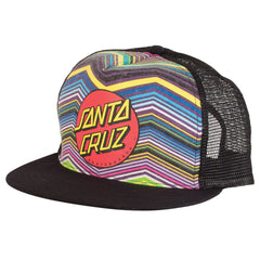 Santa Cruz Classic Dot Trucker Mesh Hat - Multi - Men's hat
