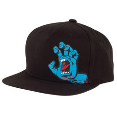 Santa Cruz Screaming Hand Flexfit Snapback - OS - Black - Toddler's Hat