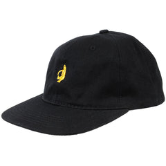 Krooked Shmolo 6 Panels Strapback - Black - Men's Hat