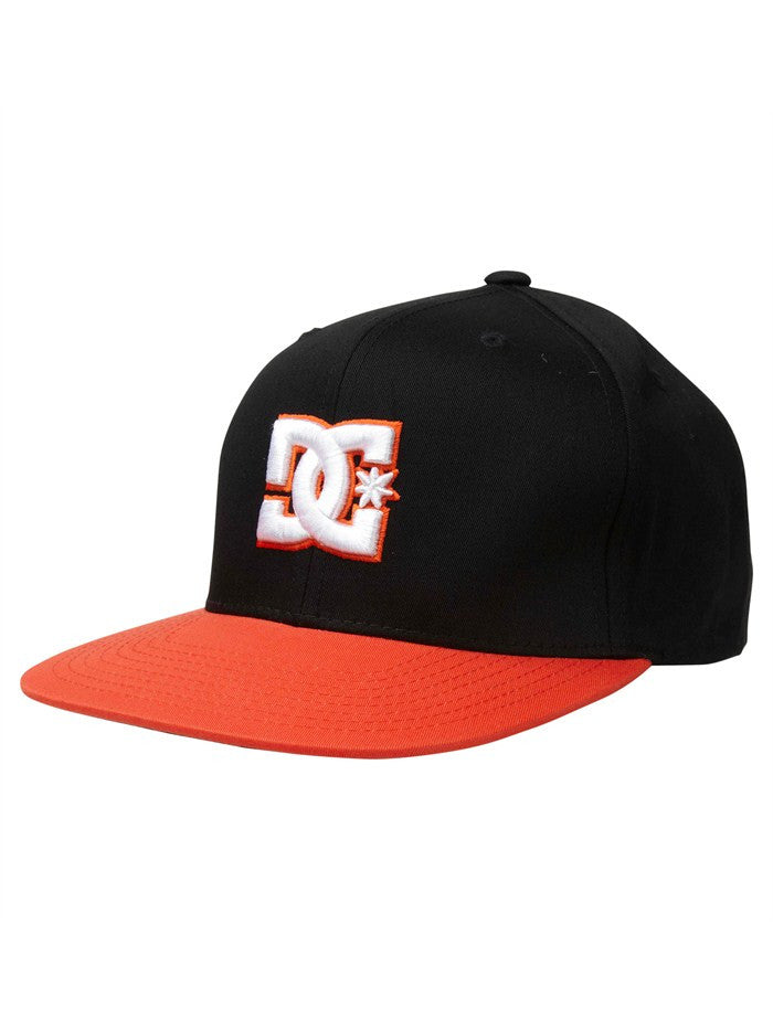 DC Snappy Snapback - Black/Orange - Men's Hat