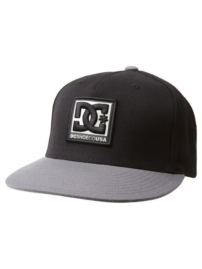 DC Whipped Snapback - Black - Men's Hat