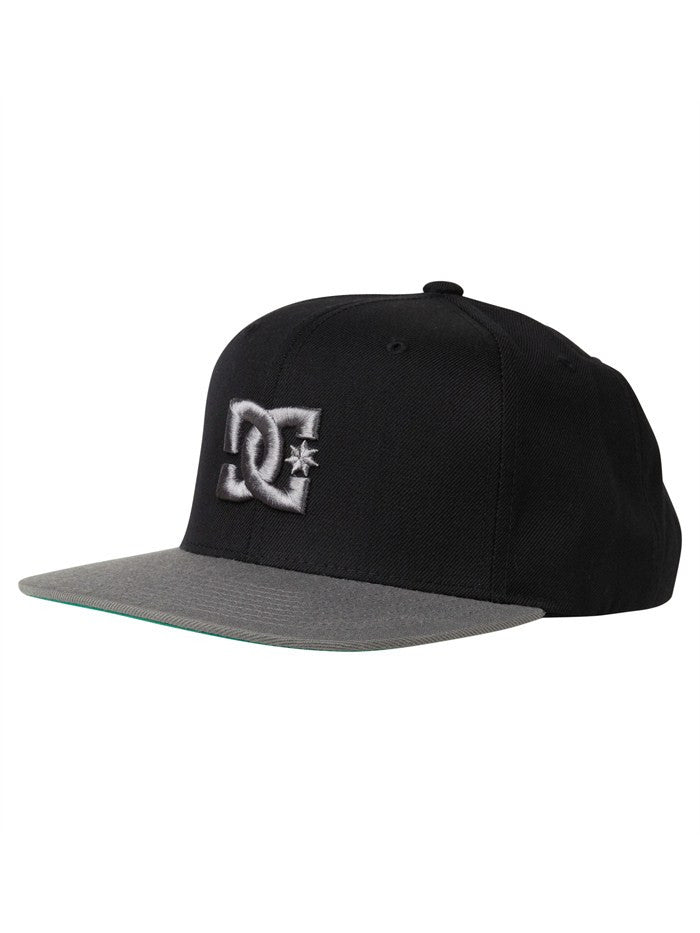 DC Back To It Snapback - Black - Men's Hat