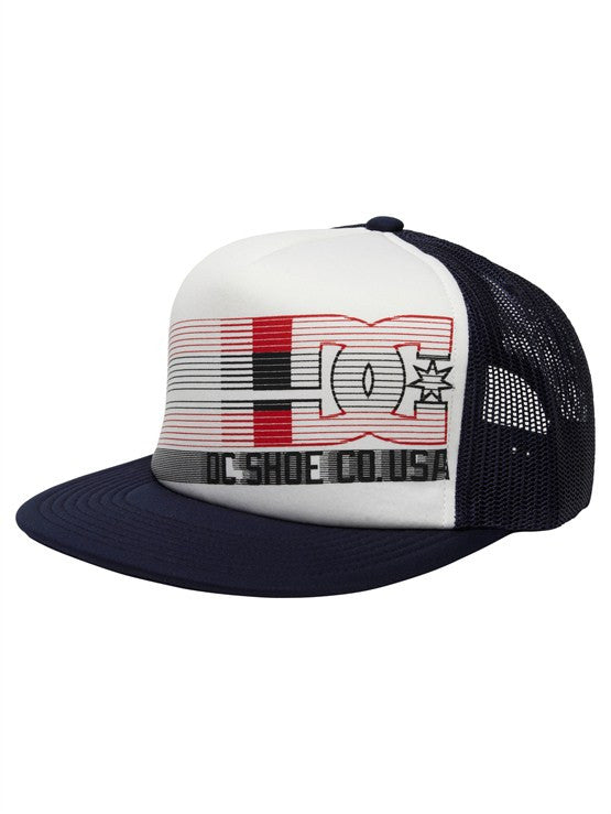 DC Quickness Snapback - White - Men's Hat
