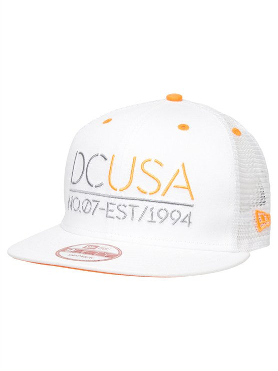 DC Rob Dyrdek Highlight Stencil Snapback - White - Men's Hat