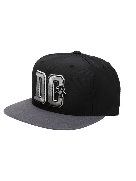 DC Stepper Strapback- Black - Men's Hat