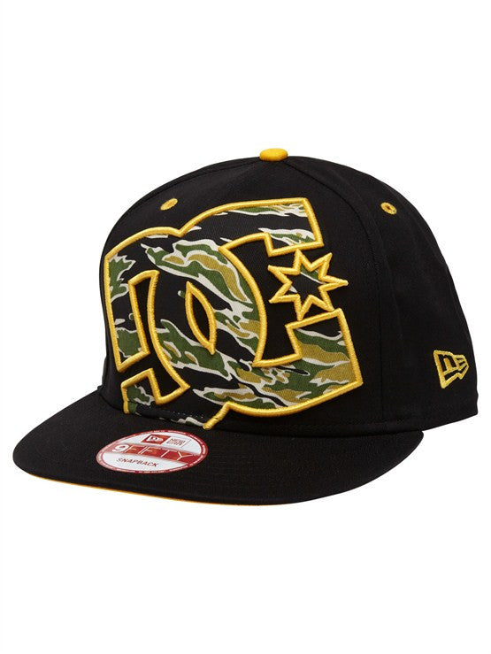DC Rob Dyrdek Tigerfill Snapback - Black - Men's Hat