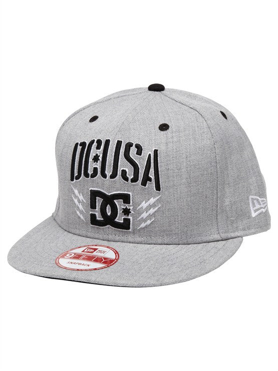 DC Rob Dyrdek Bolts Snapback - Heather Grey - Men's Hat