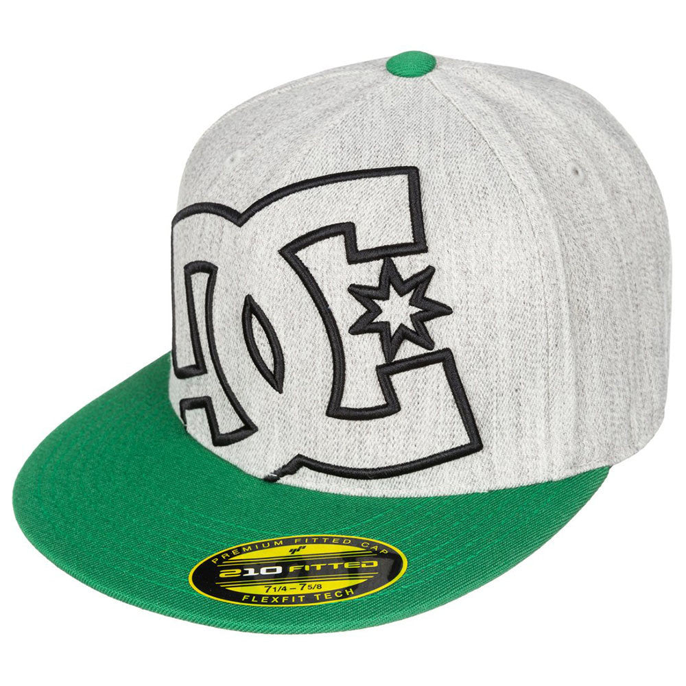 DC Ya Heard Fitted - Steel Grey KNFH - Men's Hat