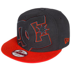 DC Double Up Snapback - Black/Orange/Orange XKNN - Men's Hat