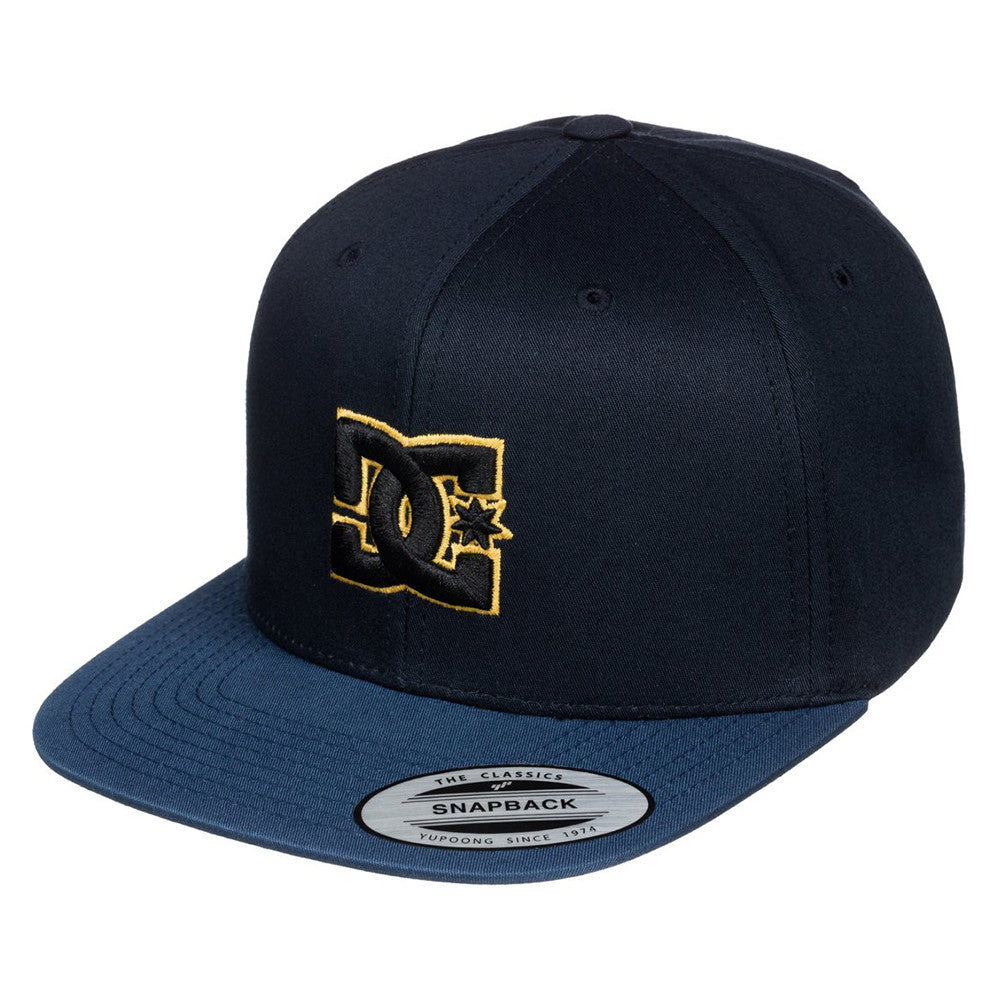 DC Snappy - Blue/Blue/Yellow XBBY - Men's Hat