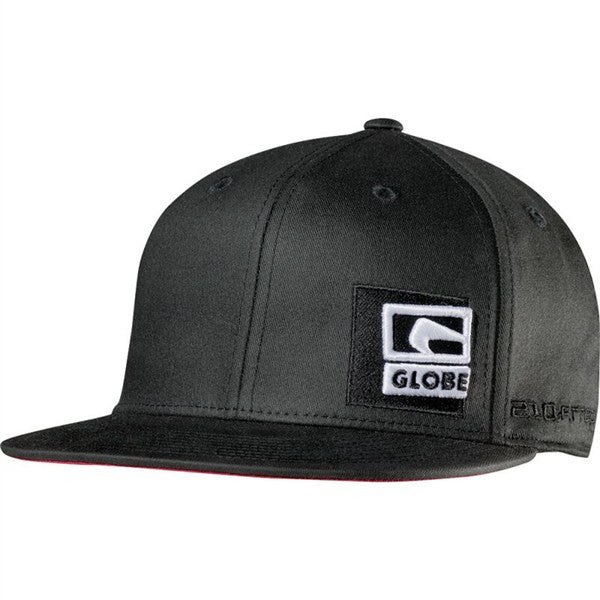 Globe Black Out Flat Brim - Black - Hat