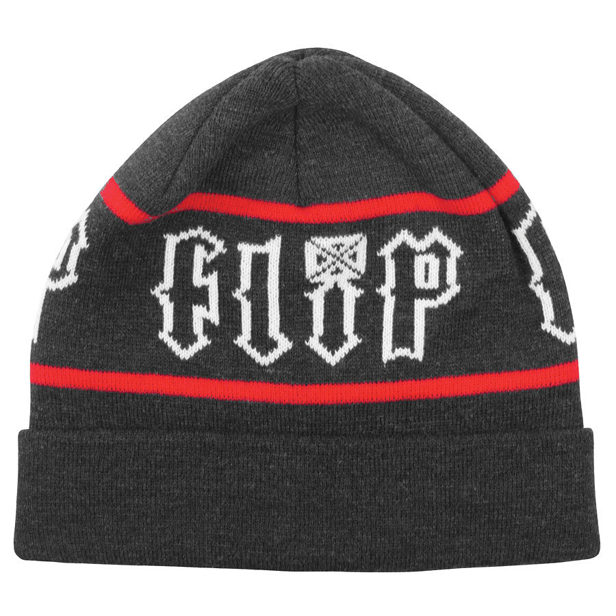 Flip HKD Stripe Long Shoreman - One Size Fits All -Black - Men's Beanie