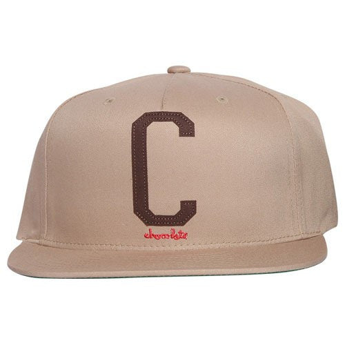 Chocolate League C Snapback - Khaki/Chocolate - Men's Hat