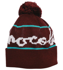 Chocolate Full Chunk Pom - Maroon - Men's Beanie