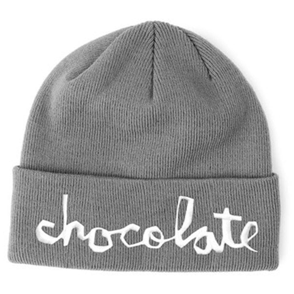 Chocolate Big Chunk Folded - Grey - Men's Beanie