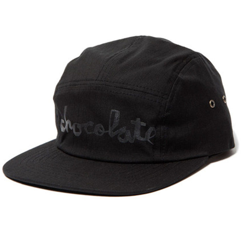 Chocolate Chunk Rip Stop Camper - Black - Men's Hat