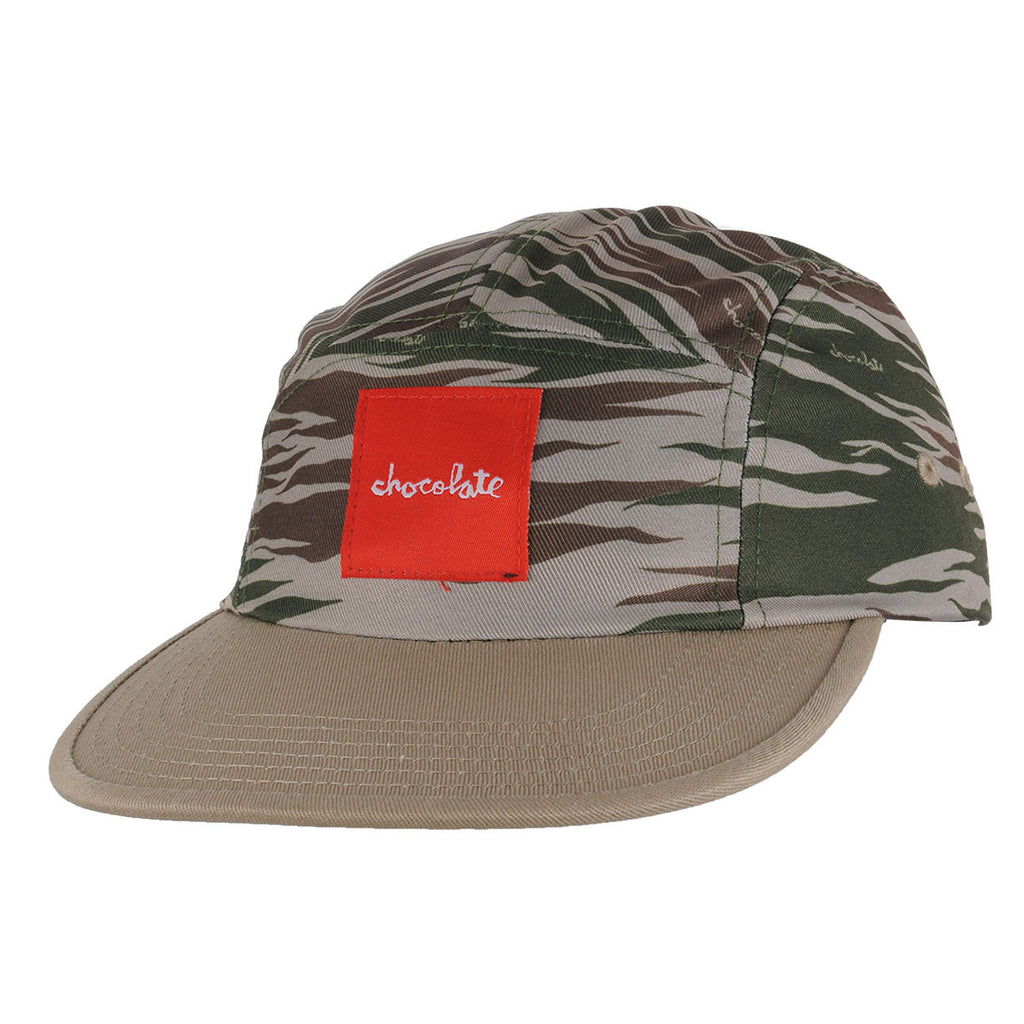 Chocolate Camo Camper - Black - Men's Hat