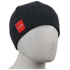Chocolate Red Square Folded - Grey - Men's Beanie