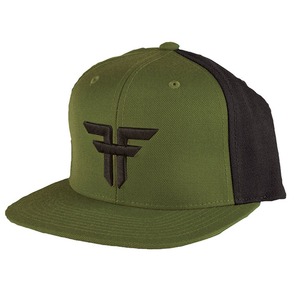 Fallen Trademark Starter Snapback - Surplus Green/Black - Men's Hat