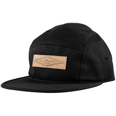 Fallen Aztec 5 Panel Snapback - Black - Men's Hat