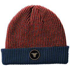 Fallen Double Up - Heather Oxblood/Midnight Blue - Men's Beanie