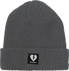Mystery Heart Patch - Grey - Beanie