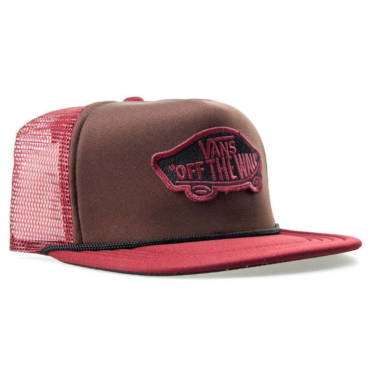 Vans OTW Trucker Men's - Burgundy - Men's Hat