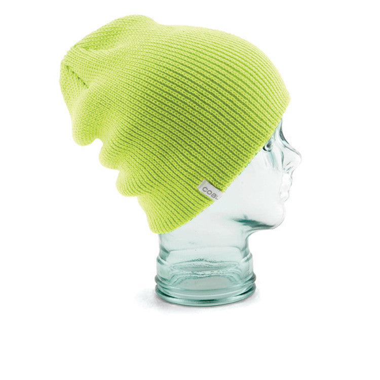 Coal Frena Solid - Fluorescent Yellow - Beanie