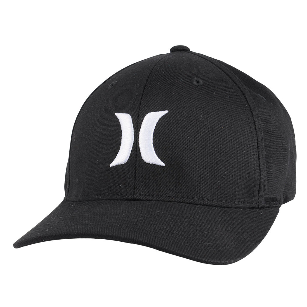 Hurley One and Only Flexfit Hat - Black - Men's Hat
