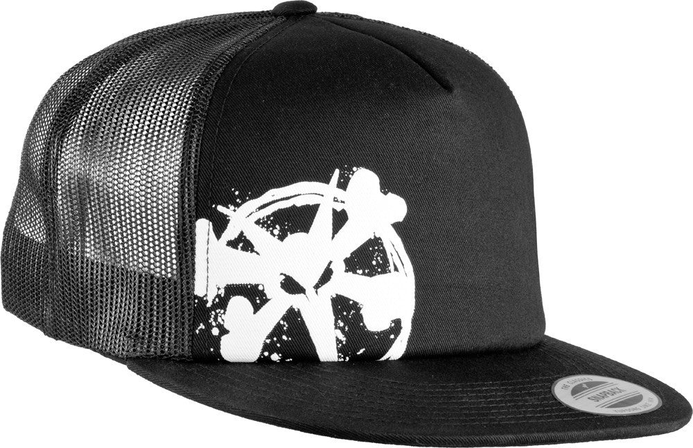Bones Trucker Chopped - Black - Men's Hat