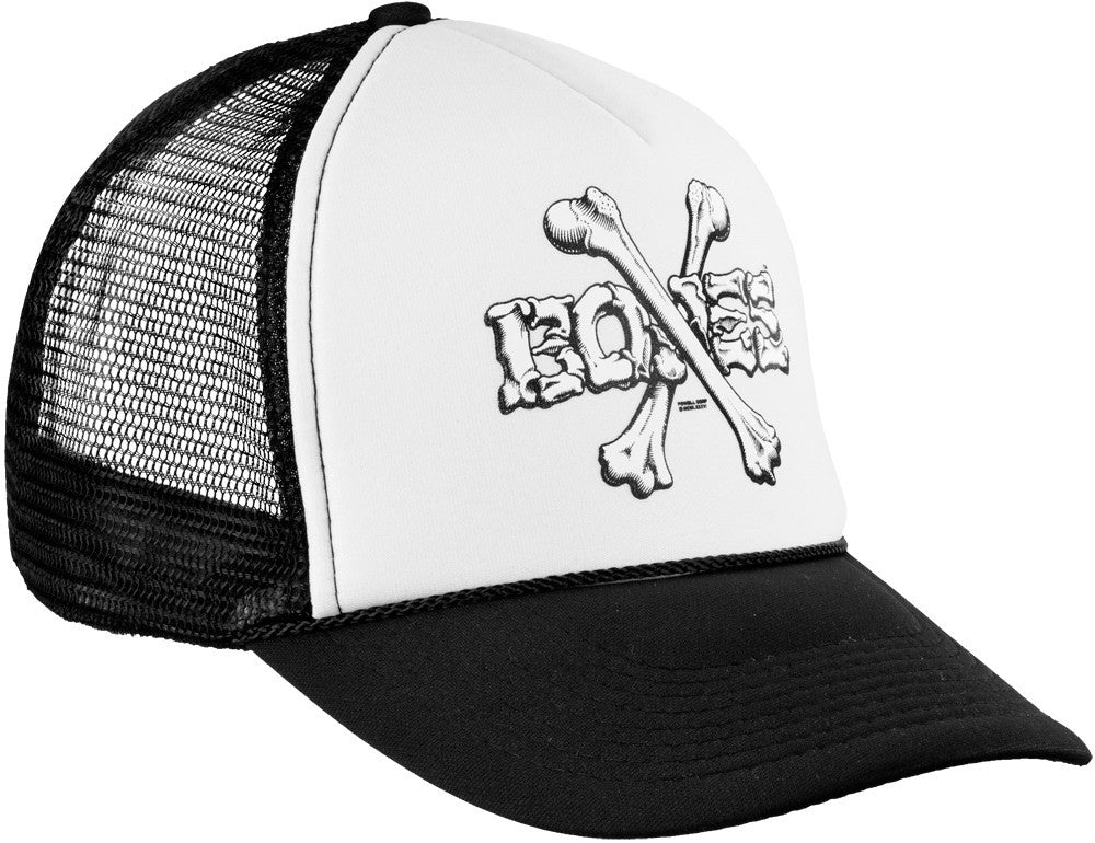 Bones Trucker Mesh Cross Bones - Black/White - Men's Hat