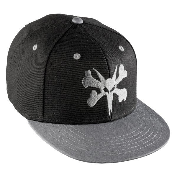 Bones Adjustable Bigger Rat Snapback - Black/Grey - Men's Hat