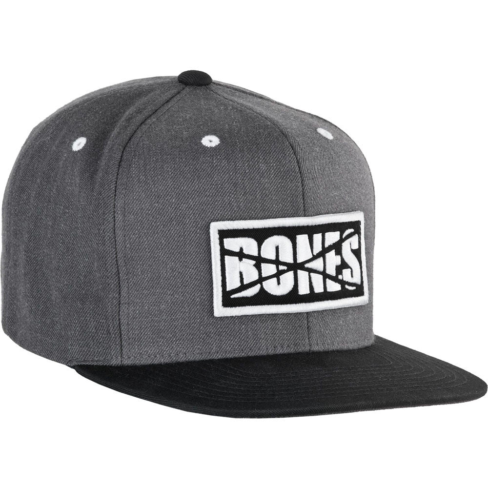 Bones Denim Factory Cap Snapback - Grey/Black - Men's Hat