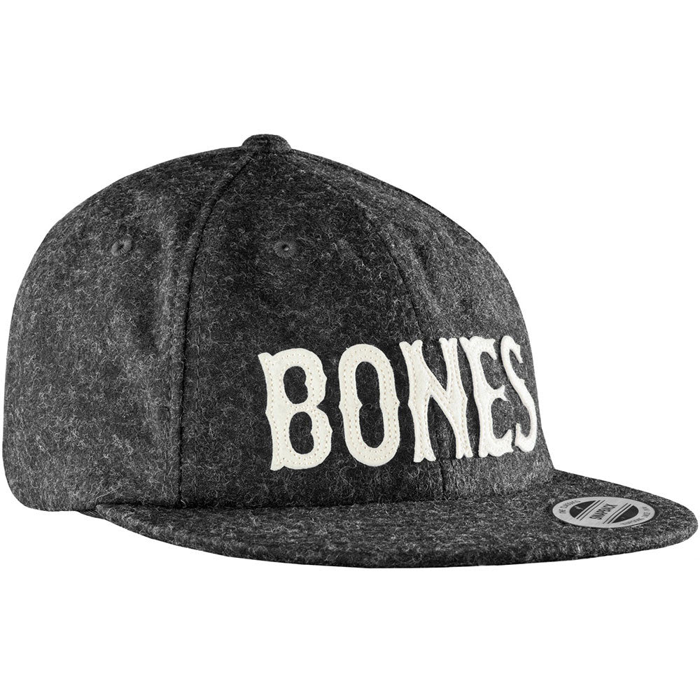 Bones Strapback Wooly Cap - Grey - Men's Hat